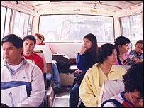 Algunos minutos de transporte urbano